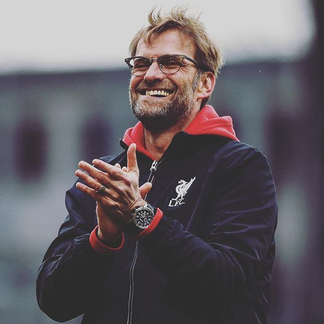 "Jürgen Klopp: ""1-0. Red card. Usually then it's finished... not today! It's a special moment."" #LFC"
