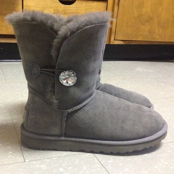 bottines ugg button bling