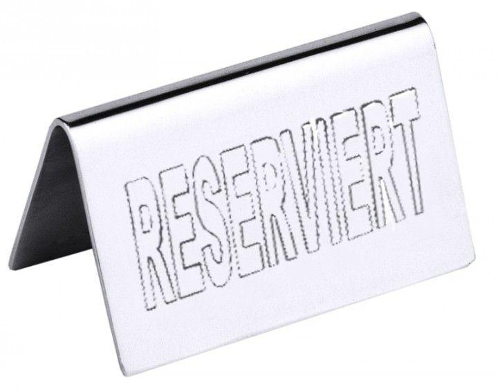 Tischschild Reserved Tischschilder Reserviert Schild Schilder