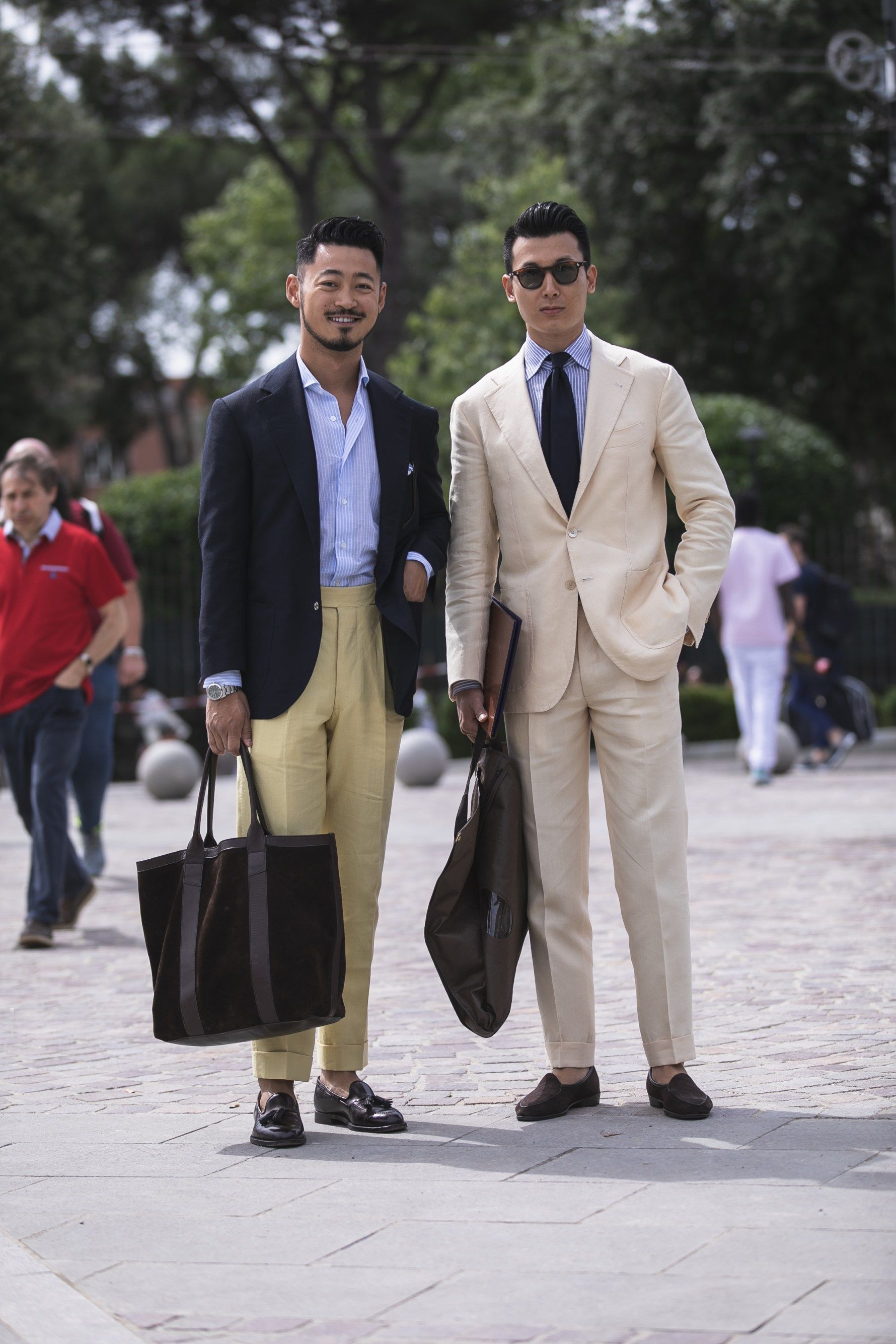 ad6c2bebd pitti uomo 94 streetstyle suit best outfit men trends   new fashion ...