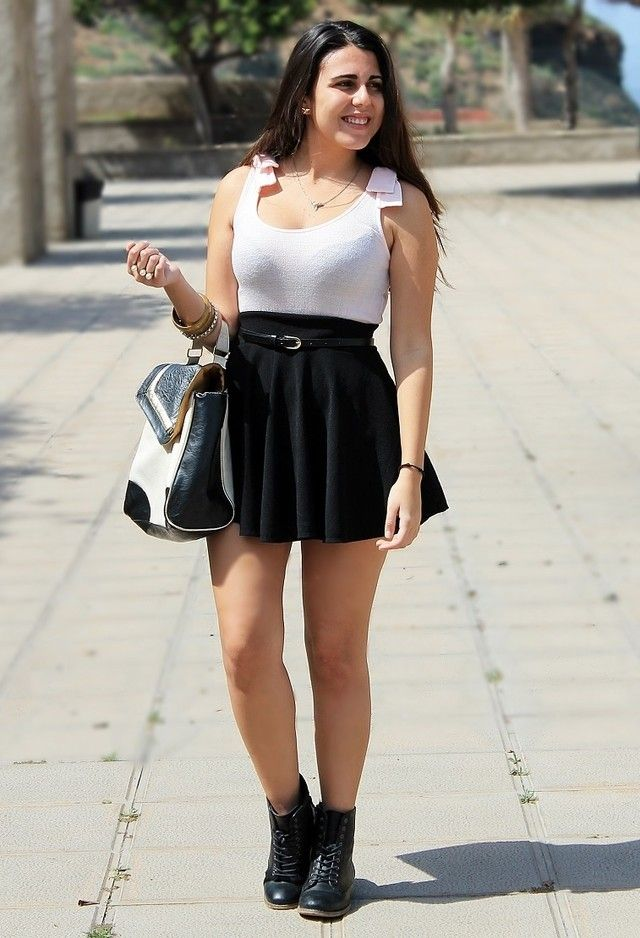 Outfits with Combat Boots- 22 Ideas How to Wear Combat ...