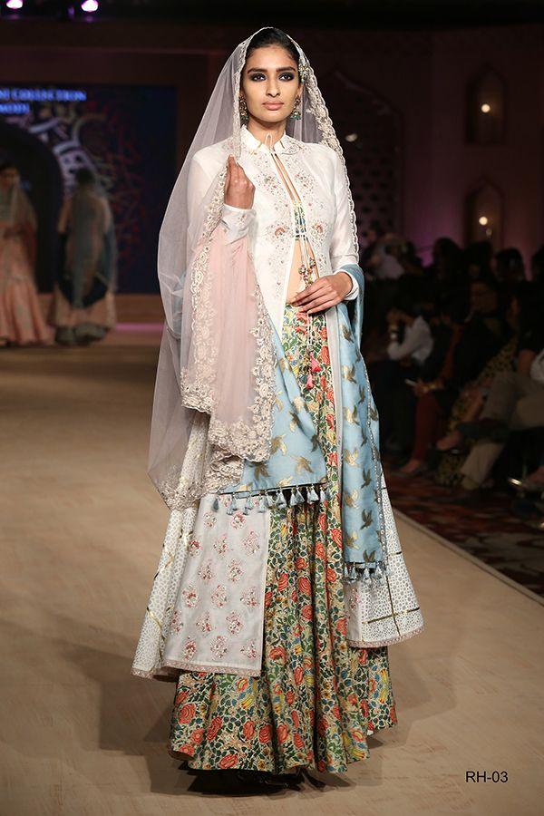 965671b4ce Anju Modi. BPFT 15'. Indian Couture.   Formals   Pinterest   Lehenga ...