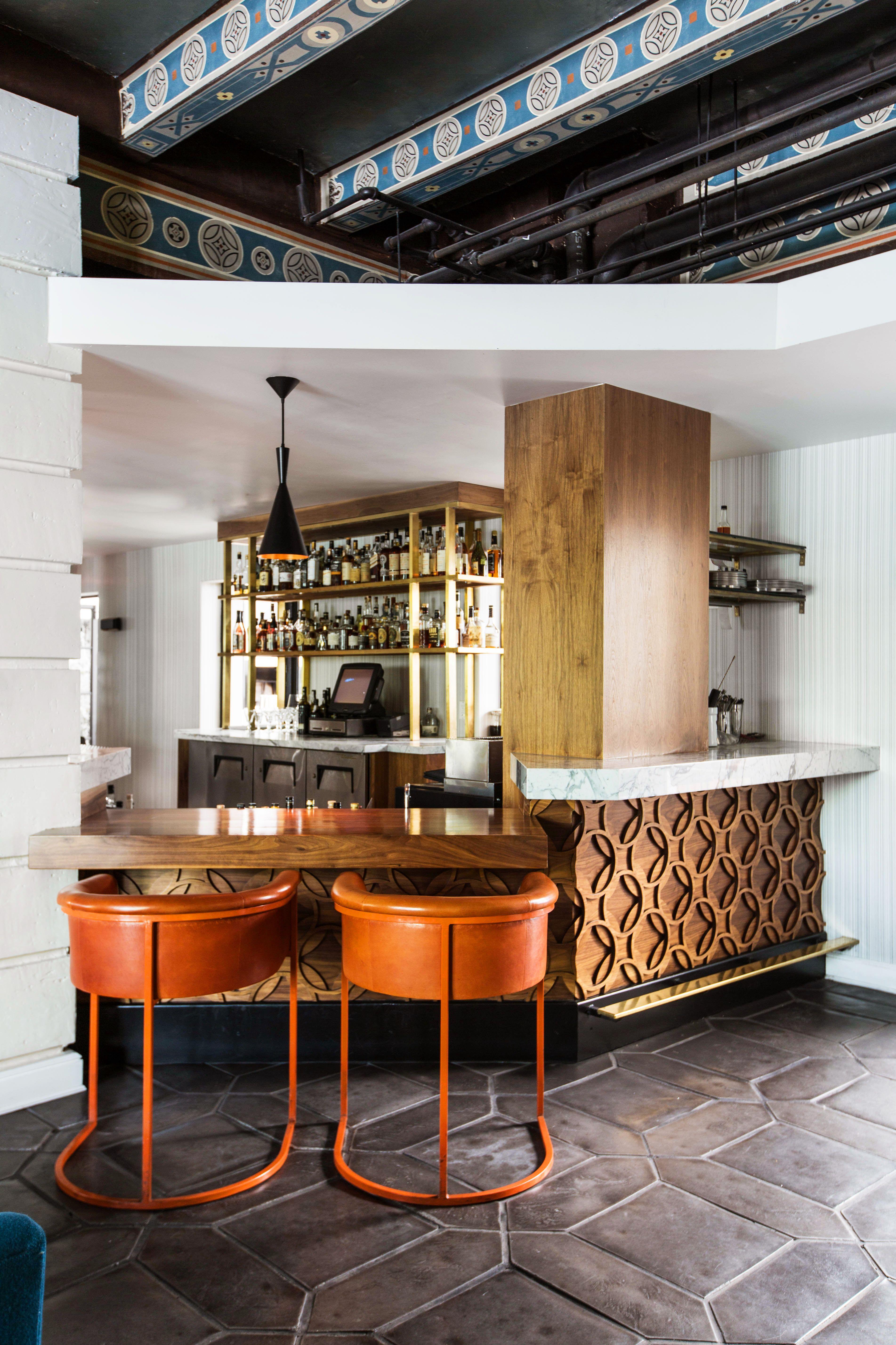 Restaurant Bar Main Dining Room Redbird Dining Restaurant Design Bar Nook