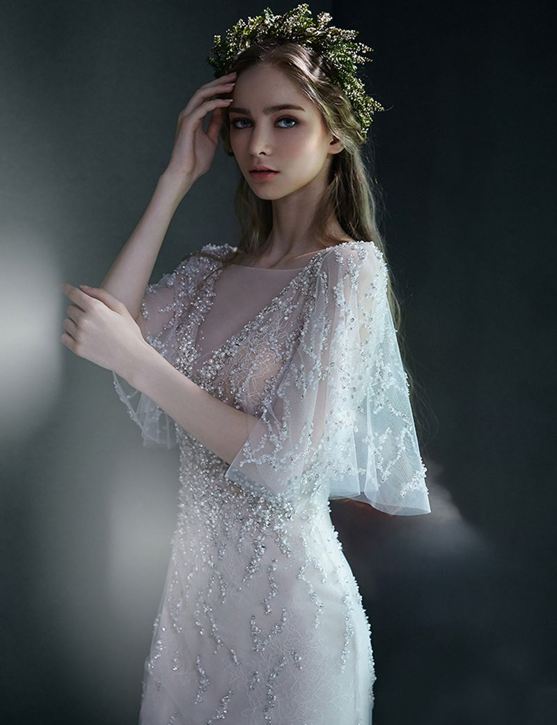 Vintage wedding dresses with sleeves   VintageInspired Puff Sleeve Wedding Dresses That Make A Timeless