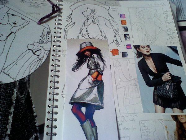 fashion ilustration work 1 by ~chezababes