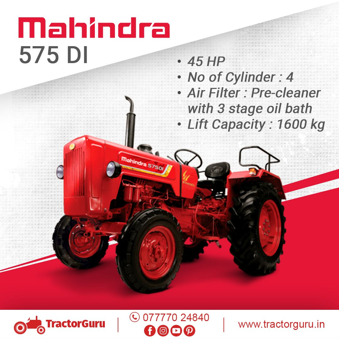Hp 45 Lift Capacity 1600kg Tractorguru Mahindra Tractorinformation Tractors Indofarmtractor Comparetractors Tractors Tractor Price New Tractor