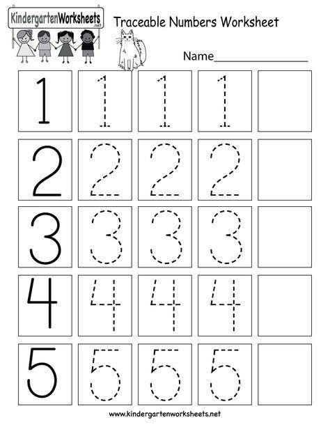 This Is A Numbers Tracing Worksheet For Preschoolers Or Kindergarteners You In 2020 Kindergarten Math Worksheets Free Preschool Math Worksheets Kindergarten Math Free Kindergarten worksheets net