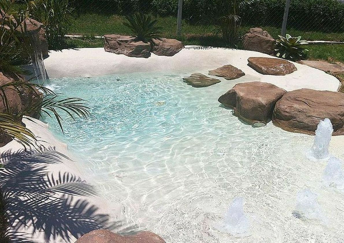 Beautiful Backyard Pool Beautiful Backyard Pool Cool Swimming Pools Swimming Pools Backyard Pool Landscaping Shore house backyard ideas