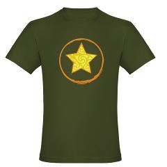 Star Power Men's Fitted T-Shirt (dark) > Star Power Series > ART STUDIO FM is Bold Design ... $24.99