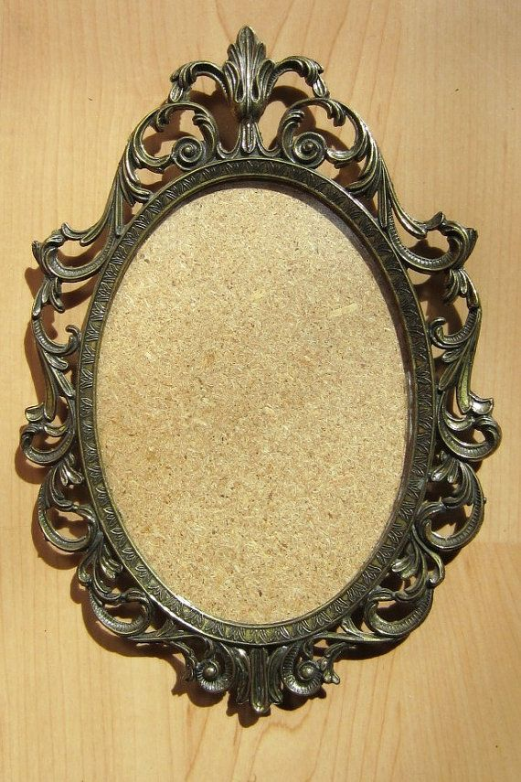 Gallery For Gt Old Fashioned Oval Frames Brass Frame Ornate Frame Frame