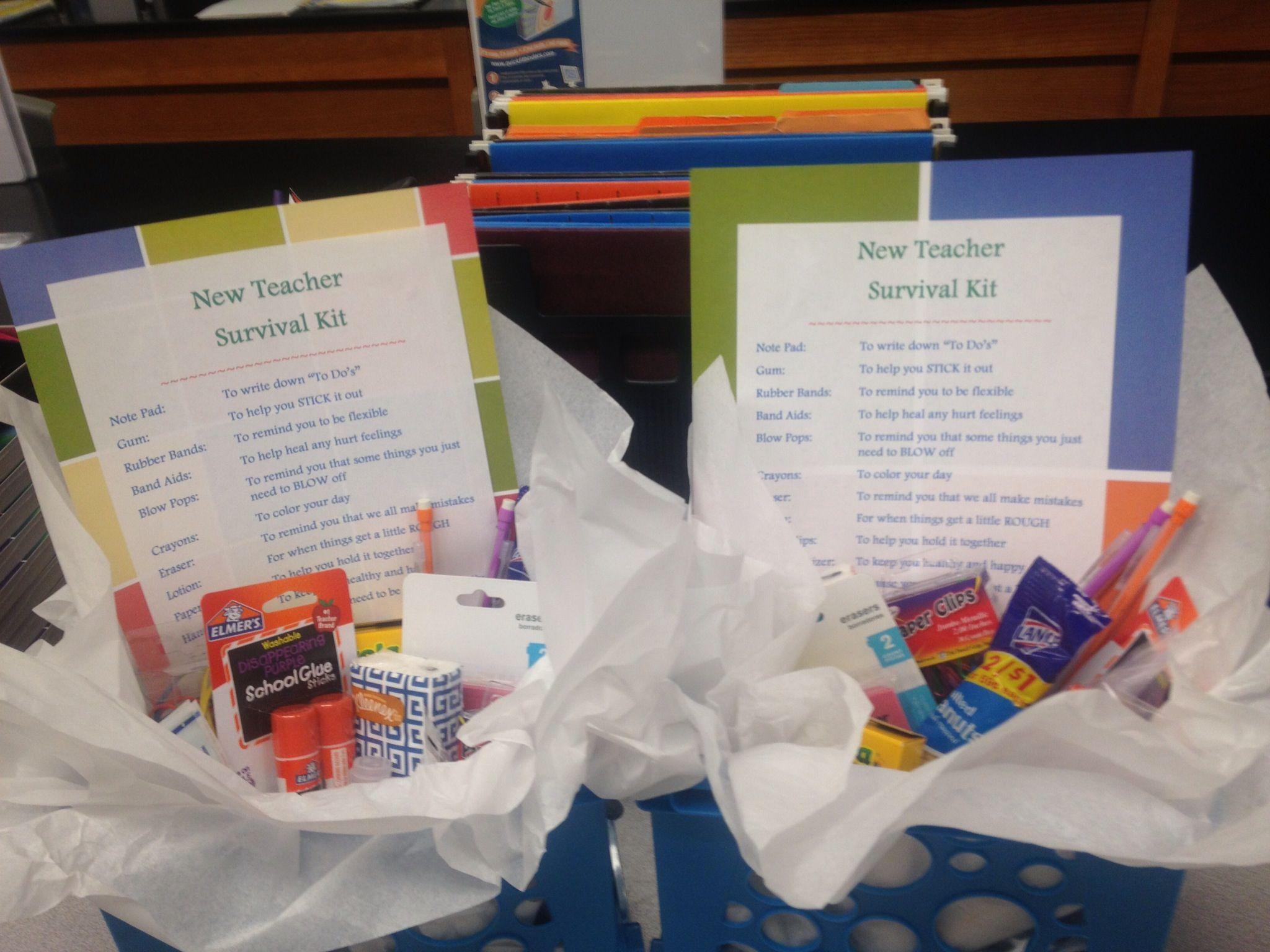 New Teacher Survival Kits