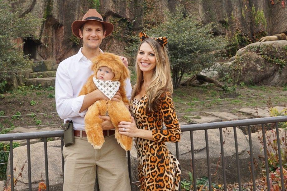 a92fcd01b Halloween family costume jungle safari theme lion tiger safari man ...