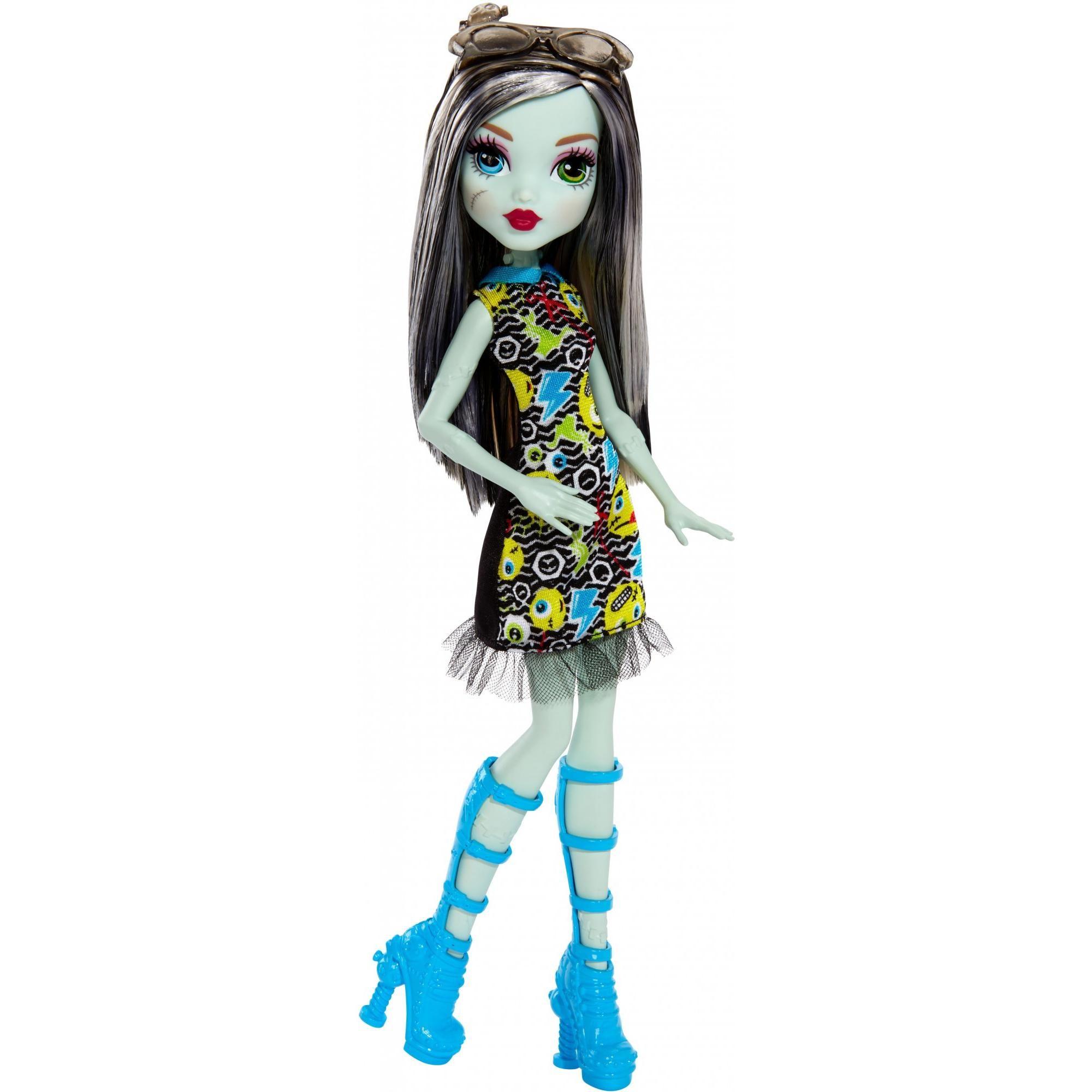 Monster High Emoji Frankie Stein Doll Walmart Com Monster High Fashion Dolls Monster High Dolls