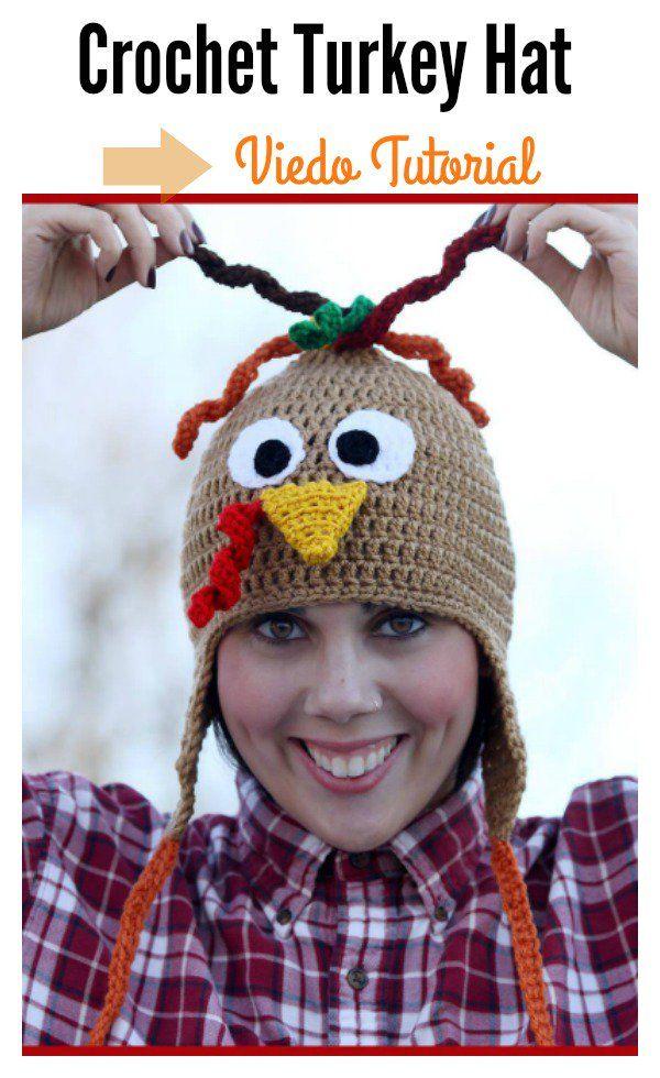 Turkey Hat Free Crochet Patterns | Pinterest