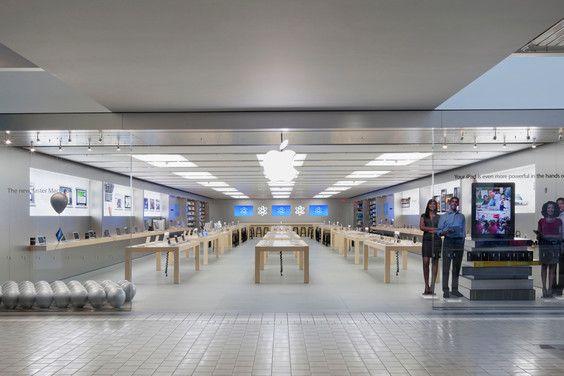 Apple Retail Store Anchorage 5th Avenue Mall Apple Retail Store Apple Store Cabin