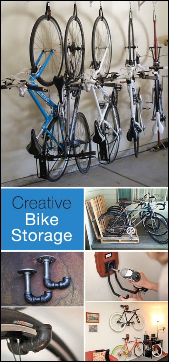 Creative Bike Storage Garage
