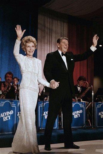 Inaugural Balls Through The Years | Nancy reagan and Ronald reagan