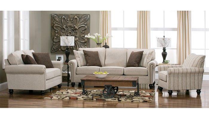 Slumberland furniture bingham collection sofa - Slumberland living room furniture ...