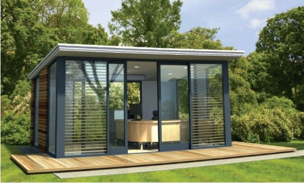 Abri de jardin id es maison jardin pinterest abris for Outside office shed