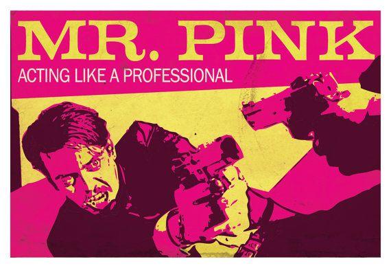 Reservoir Dogs Poster Mr. Pink Steve Buscemi by SaulsCreative