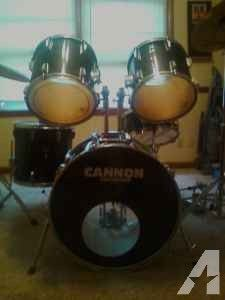 5 piece Cannon Drum set for sale    300  springfield    Drums     5 piece Cannon Drum set for sale    300  springfield