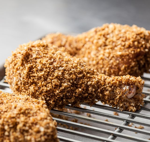 A baked version of a classic Nashville chicken recipe.
