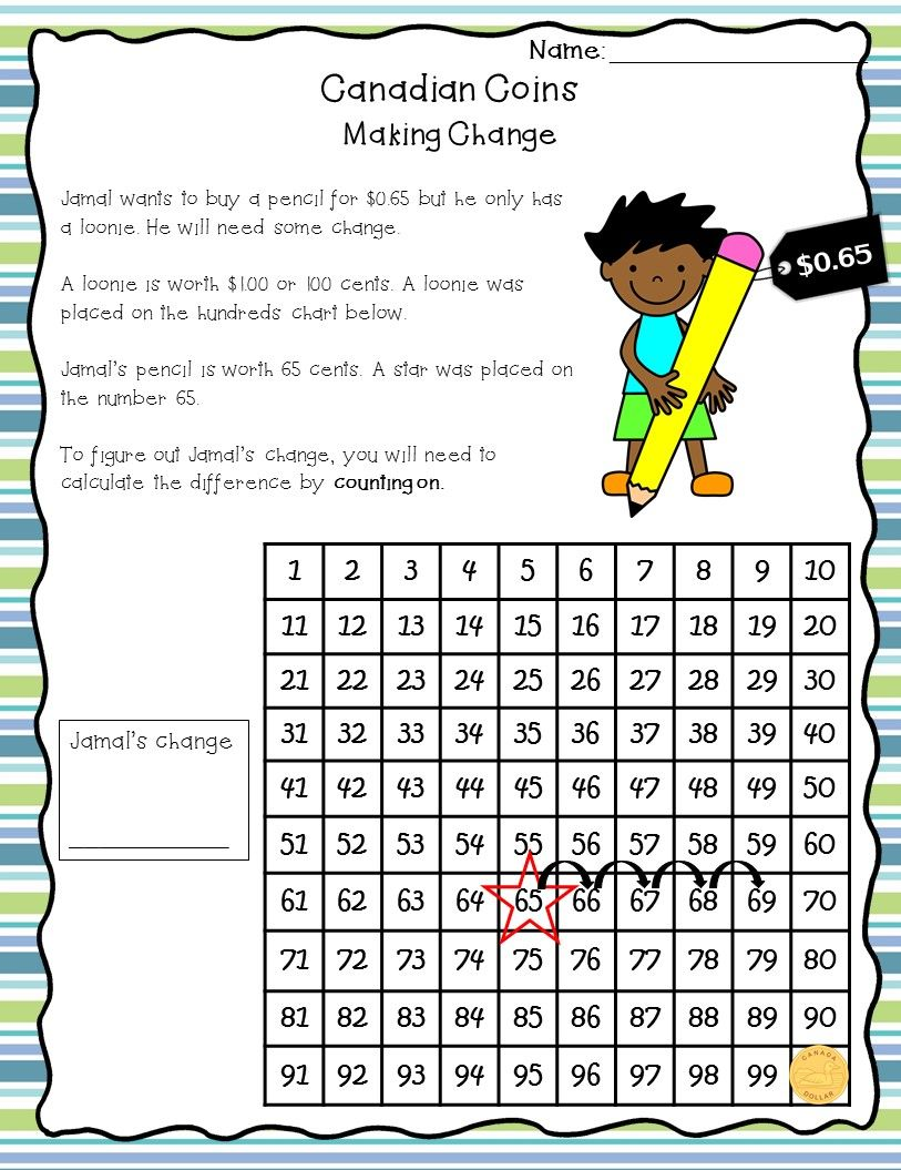 small resolution of Canadian Money Worksheets - Grade 2/3   Money worksheets