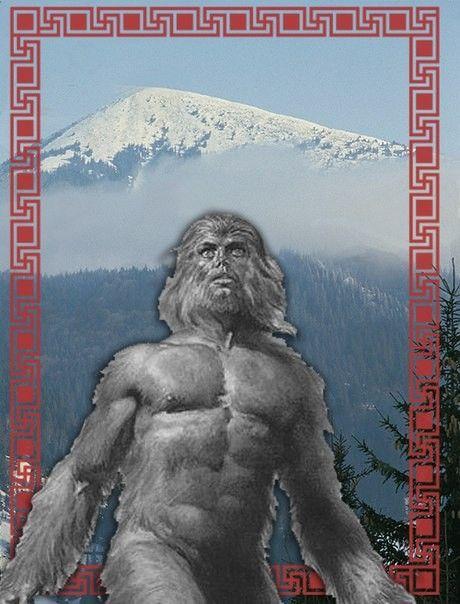 Чугайстр - лісовий сторож, карпатська снігова людина