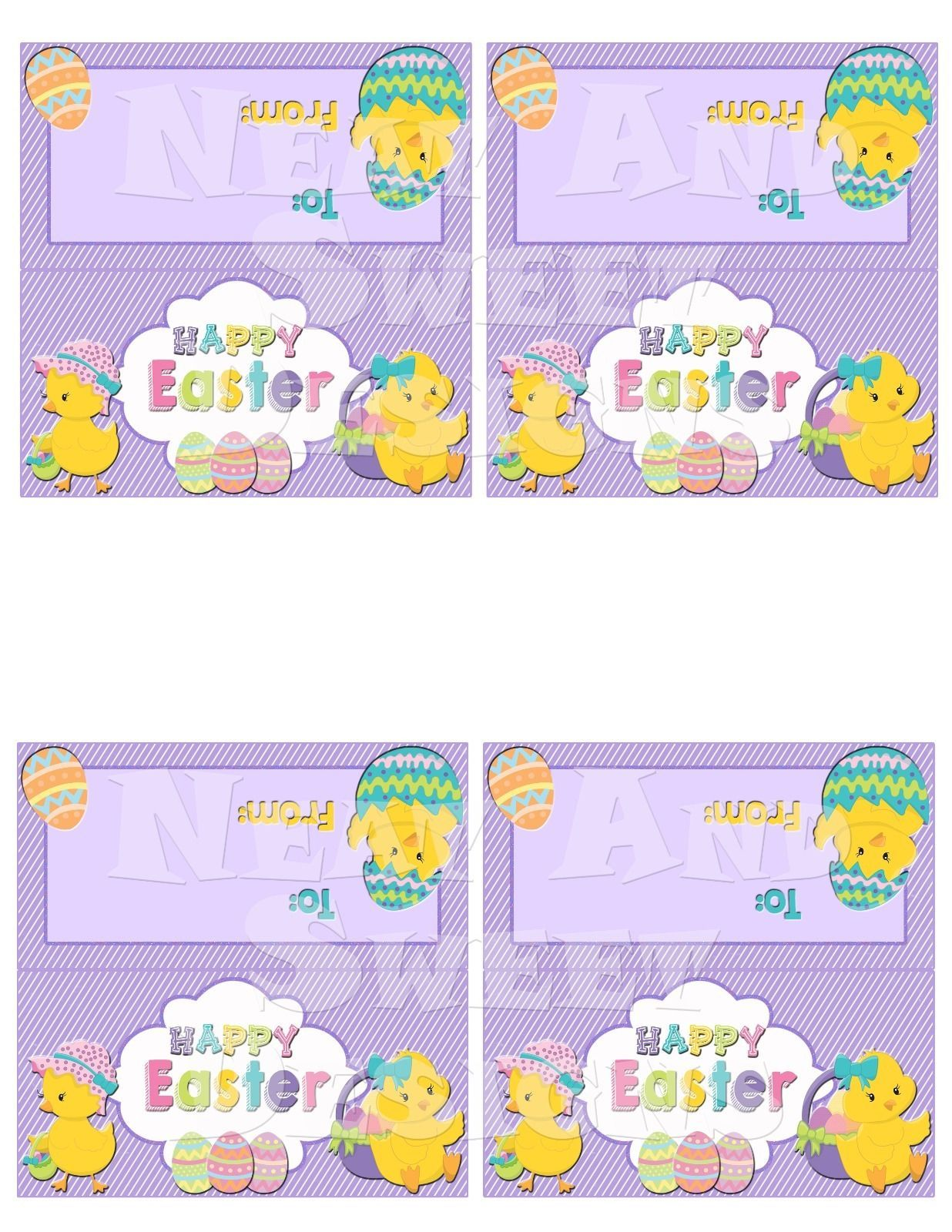 Printable easter treat bag toppers easter chick treat bag tags printable easter treat bag toppers easter chick treat bag tags ebay negle Choice Image