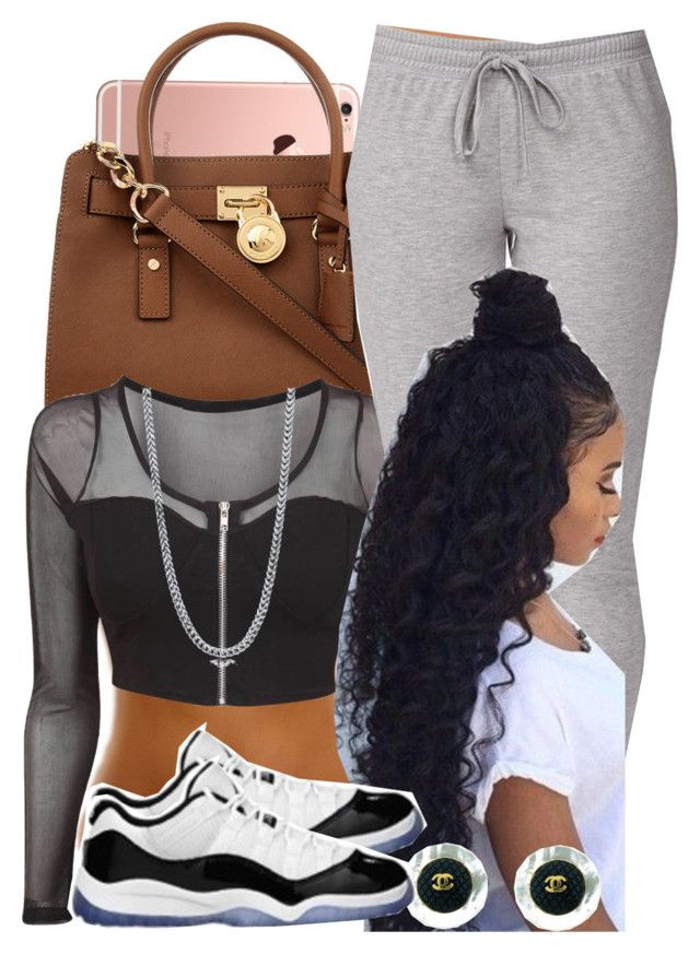 """""""Complete"""" by missk2blue ❤ liked on Polyvore featuring MICHAEL Michael Kors, BERRICLE, Forever 21, Chanel and Retrò"""