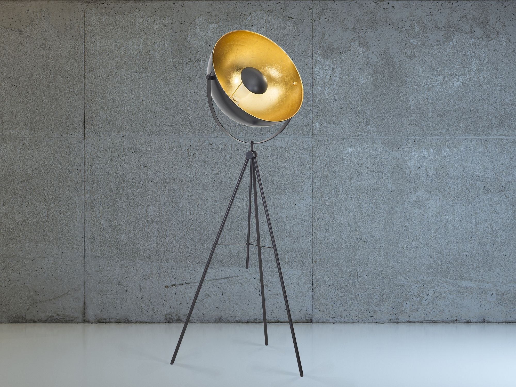 Staande lamp zwart stalamp leeslamp verlichting thames
