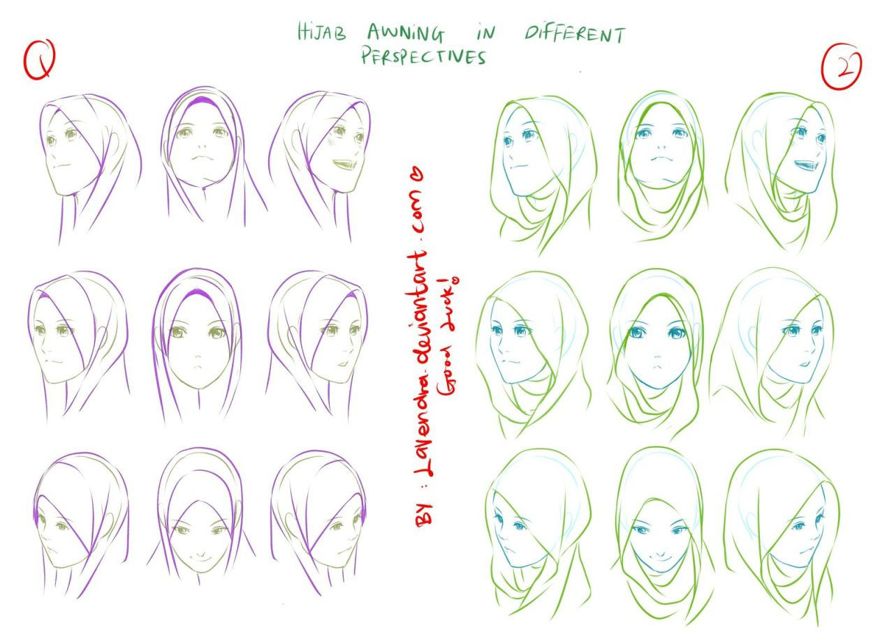 drawingdenHijab awning , Perspectives by Lavendra