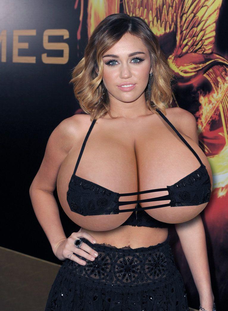 Miley Cyrus boobs - 2019 year