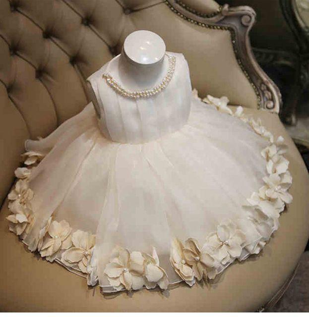 Ls-1 bebé ropa dulce pétalo vestido para recién nacido - 15 T niñas ... 1423fa004fec