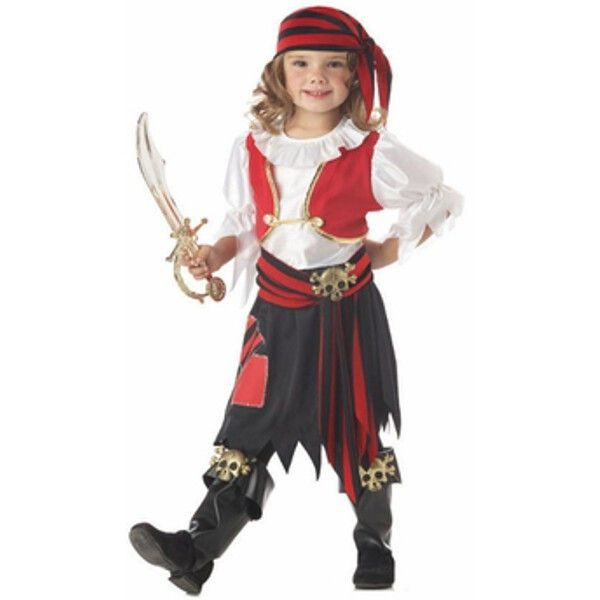 Toddler Penny The Pirate Girl Costume #diypiratecostumeforkids