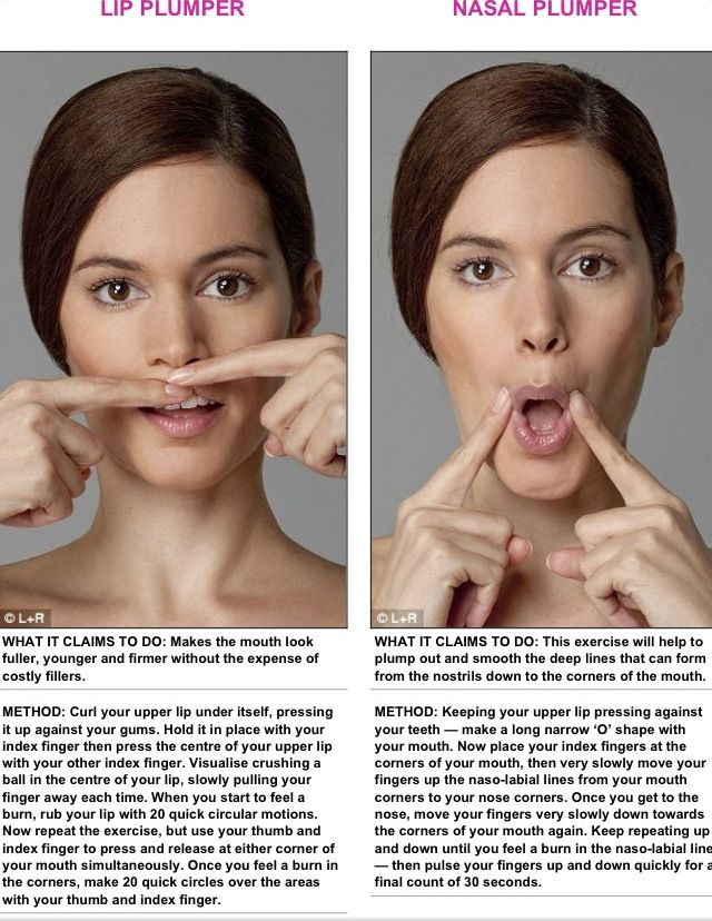 Facial exercise massage picture 249