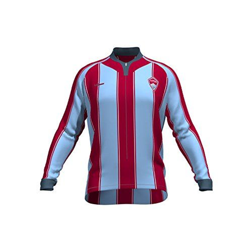 a25e8b5e8 MLS Colorado Rapids Womens Original Striped Long Sleeve Cycling Jersey  Large Blue -- For more information
