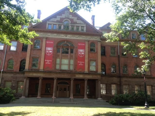 Winants Hall Built In 1890 Adjacent To The Old Queens Building On Its New Brunswick Nj Campus Served As Rutge Rutgers University New Brunswick House Styles