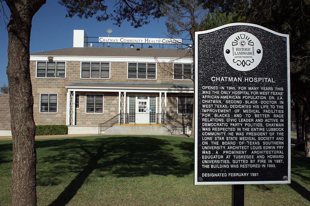 Chatman Hospital, Lubbock, Texas Plains Trail Region