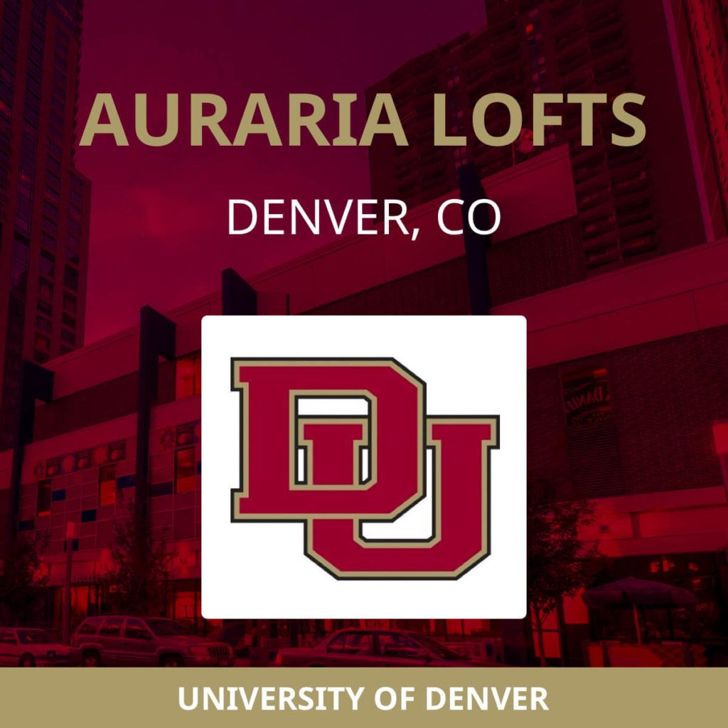 Apartments For Rent East Denver: Auraria Student Loft Apartments