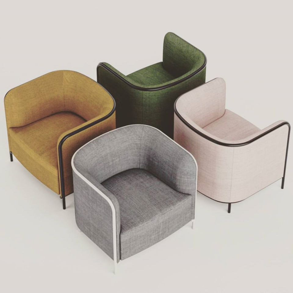 PLACE collection from Favaretto&Partners is getting a #modular #revamp    http://www.gaber.it/en/upholstered-chairs/place/place #interiordesign