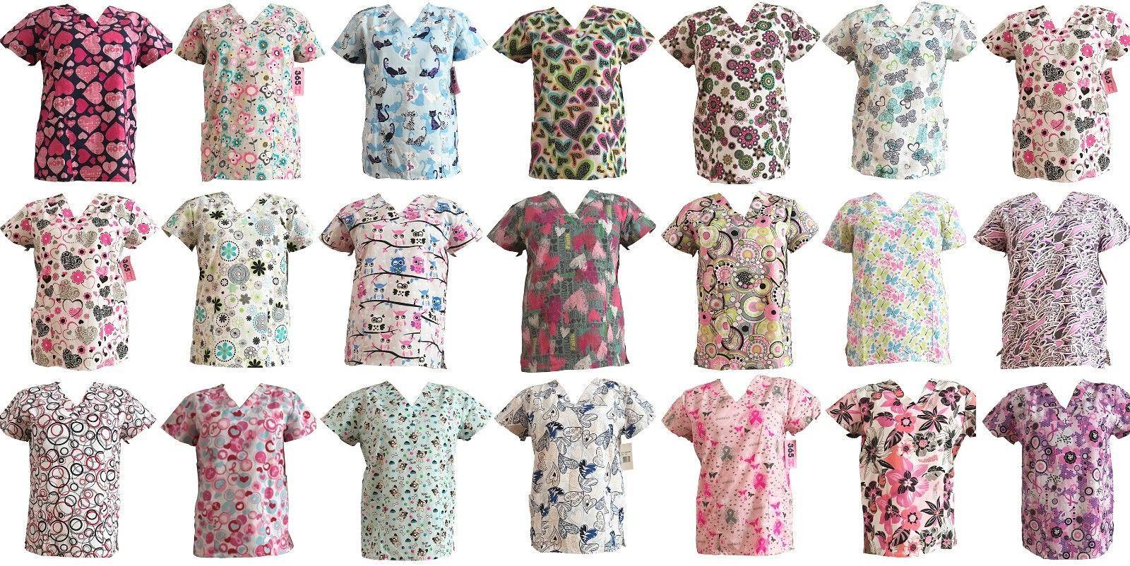 f3ffe461196 Scrubs 105419: 365 Work And Wear Women S Fashion Medical Nursing Scrub Tops  -> BUY IT NOW ONLY: $10.99 on #eBay #scrubs #women #fashion #medical # nursing # ...