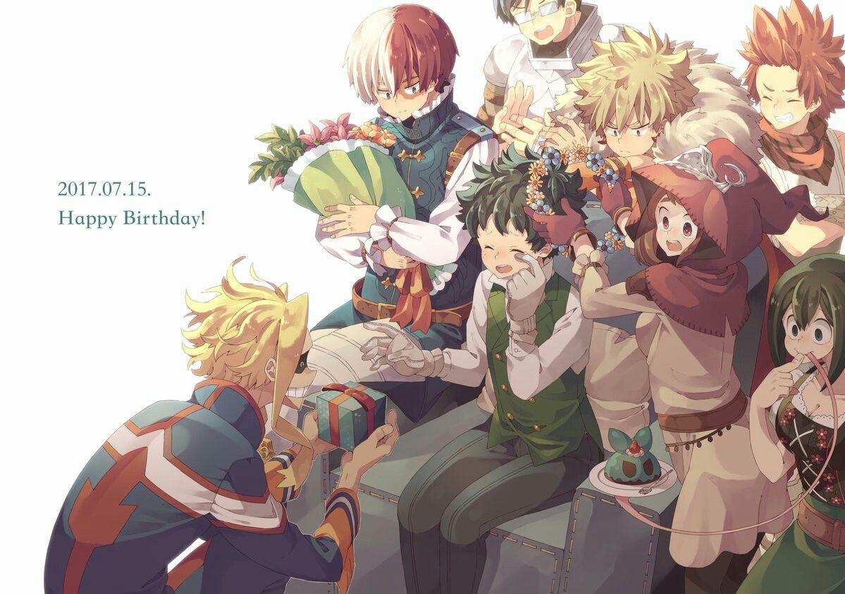 Midoriya Izuku S Birthday My Hero Academia Episodes My Hero Hero Academia Characters