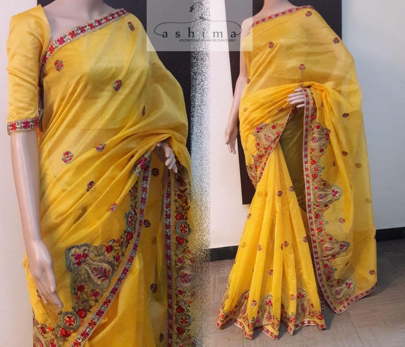 Off white tussar silk saree code  price inr  embroidered kota saree  sarees
