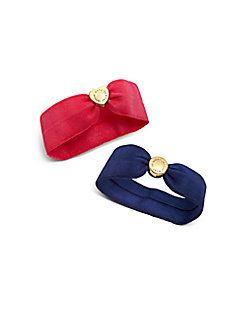 Marc by Marc Jacobs - Double Logo Pony Hair Ties