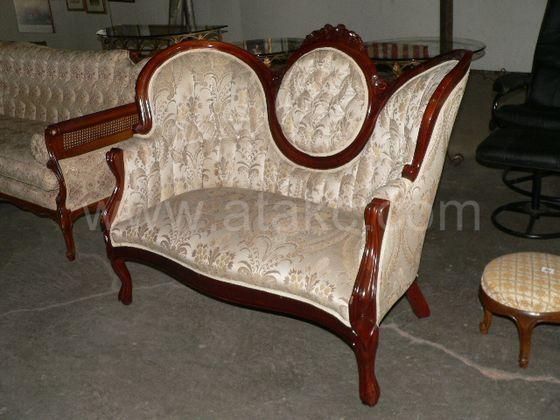 prince howard victorian style setee wwwatakccom - Setee