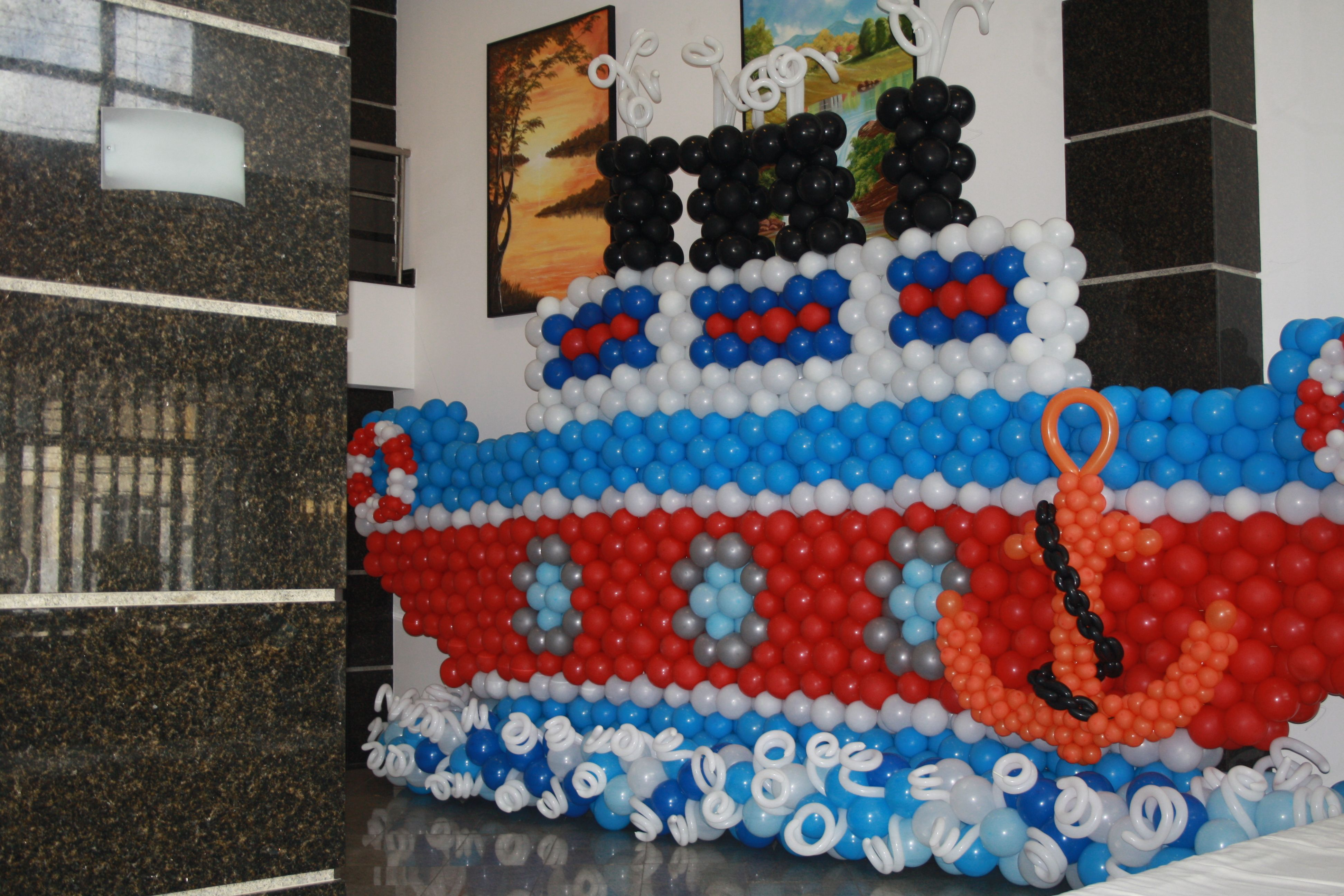 Seminário de Arte com Balões, em Salvador Bahia/2014  Realização: Hortênsia Riccio www.hortensiariccio.com.br