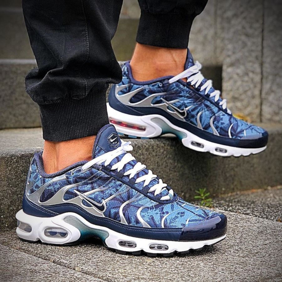 Nike Air Max Plus OG 'Blue Shadow' Palm Trees Pack 2019