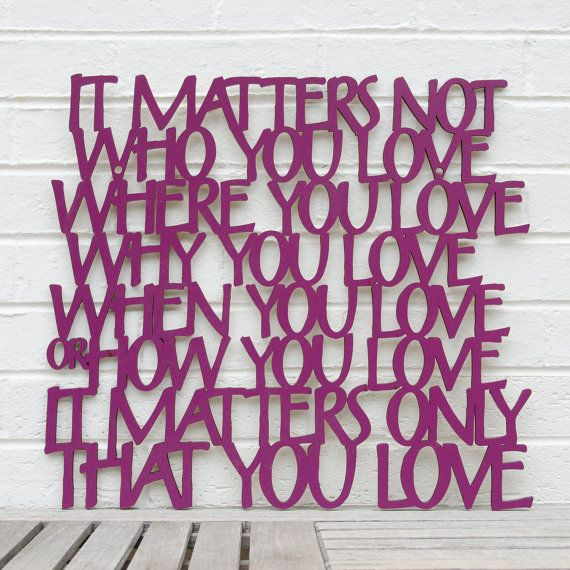 It Matters Not Who You Love John Lennon Beatles