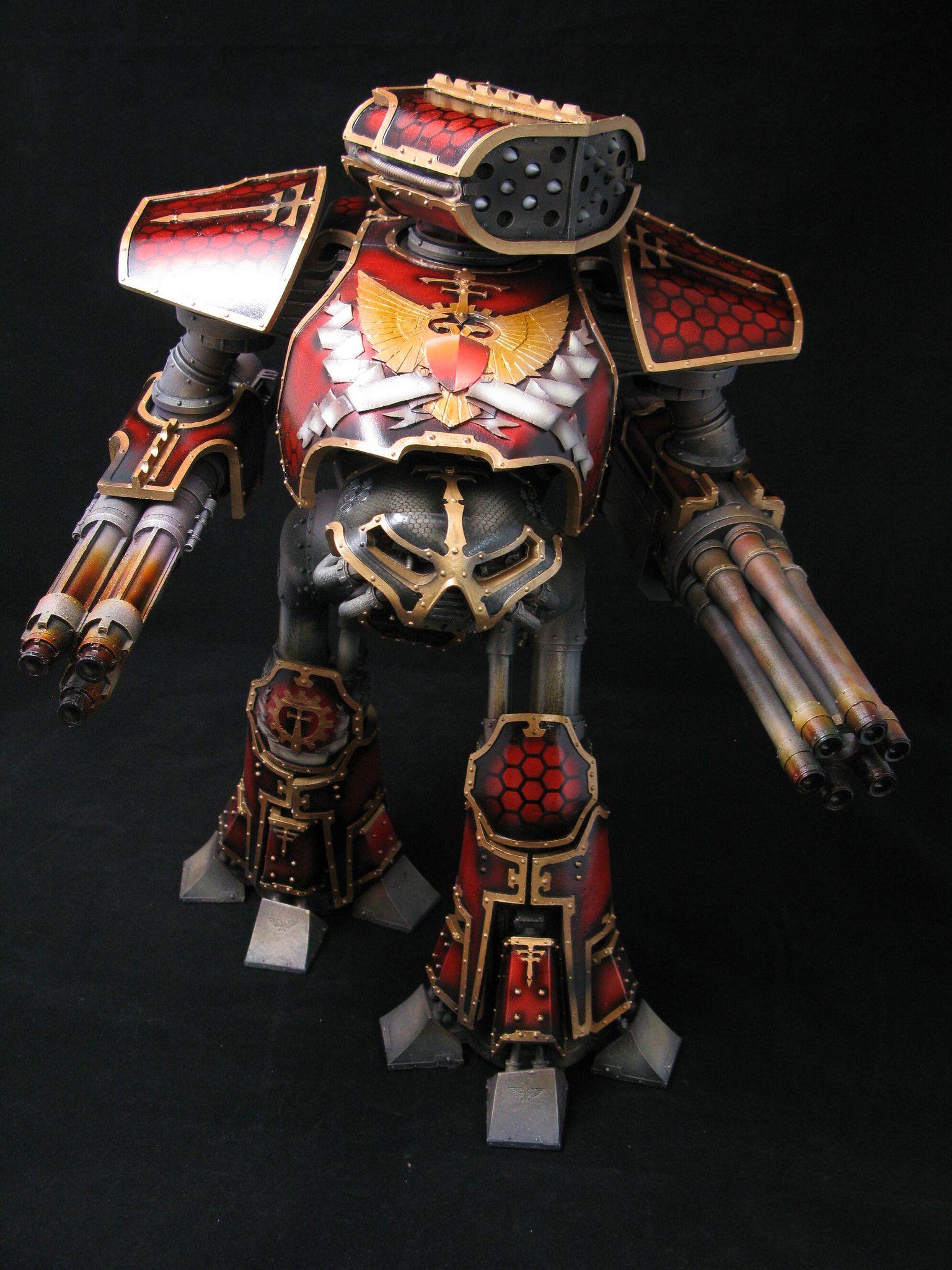 Fully magnetized Imperial Reaver Titan